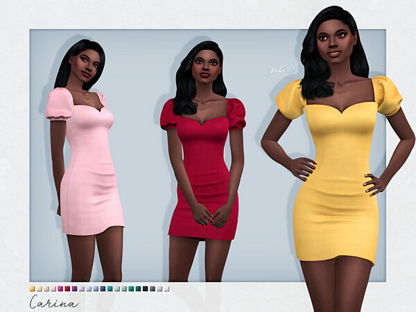 Carina Dress by Sifix from TSR