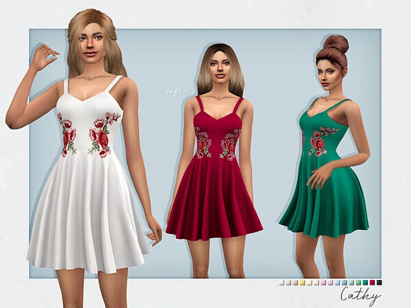 Cathy Dress by Sifix from TSR