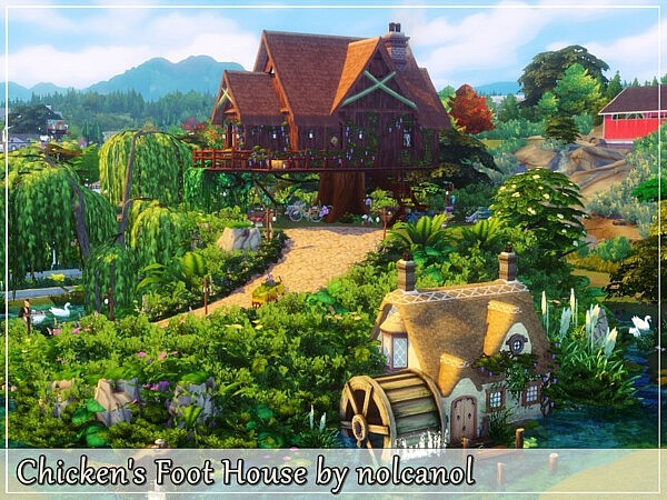 Chickens Foot House by nolcanol from TSR