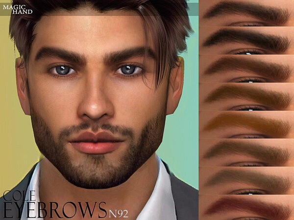 Cole Eyebrows N92 by MagicHand from TSR