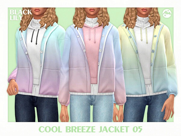 Cool Breeze Jacket 05 by Black Lily from TSR