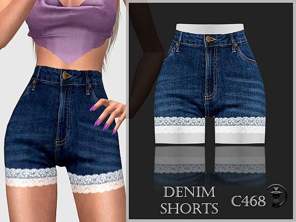Denim Shorts C468 by turksimmer from TSR