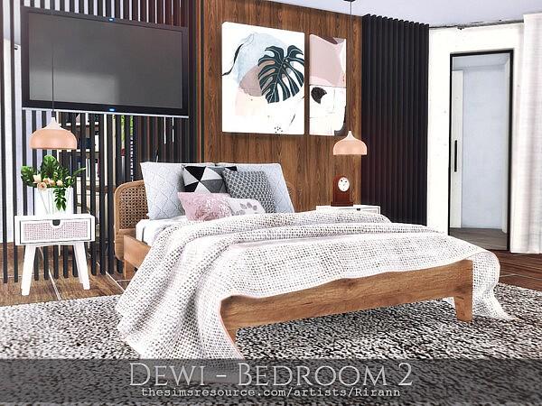 Dewi Bedroom 2 by Rirann from TSR