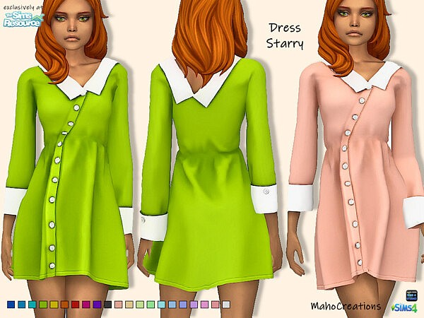 Dress Starry by MahoCreations from TSR
