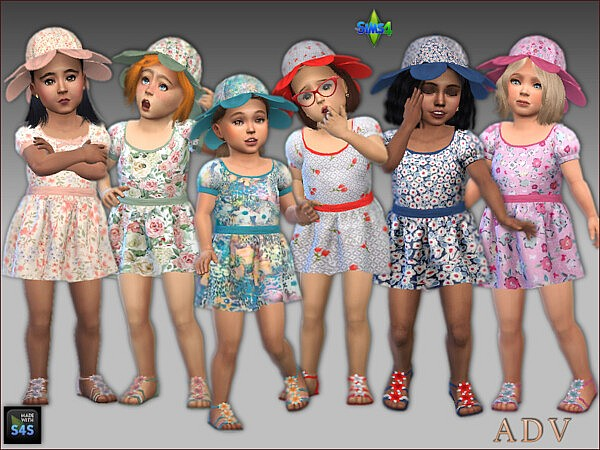 Dresses hats and shoes from Arte Della Vita