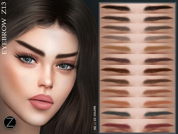 EYEBROW Z13 by ZENX from TSR