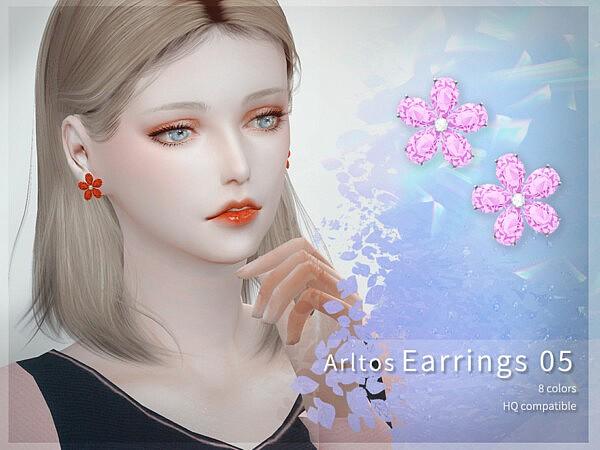 Earrings 5 by Arltos from TSR
