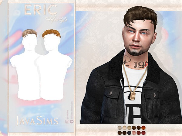 Eric Hair by JavaSims from TSR