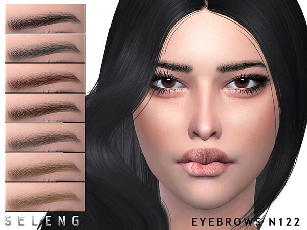 Eyebrows N122 by Seleng from TSR