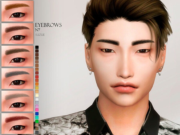 Eyebrows N7 by Suzue from TSR