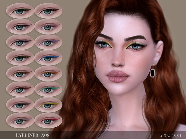 Eyeliner A08 by ANGISSI from TSR