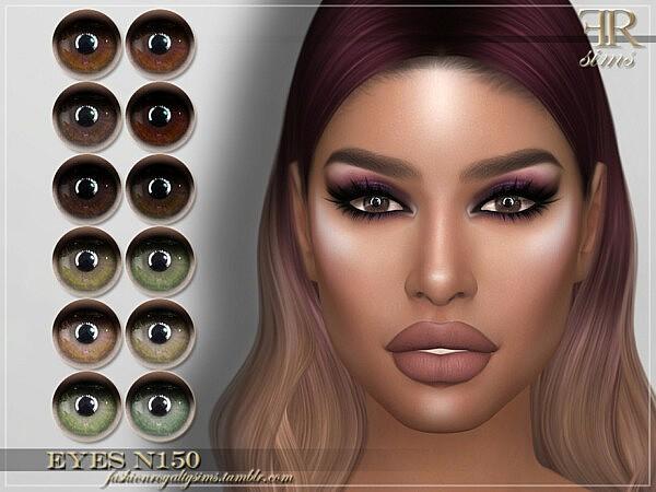 Eyes N150 by FashionRoyaltySims from TSR