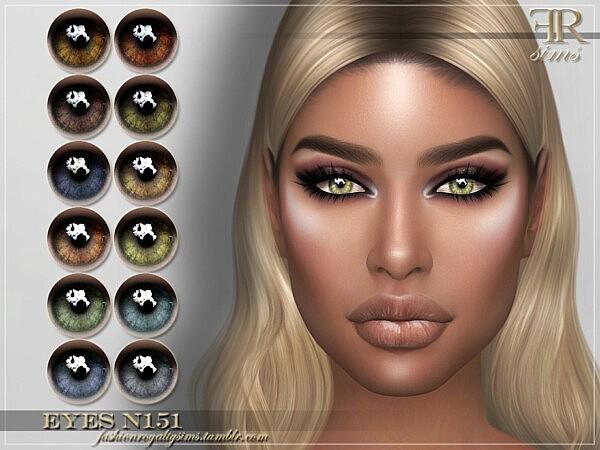 Eyes N151 by FashionRoyaltySims from TSR