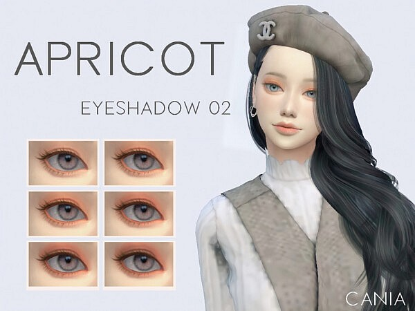 Eyeshadow 02   Apricot by CANIA0153 from TSR