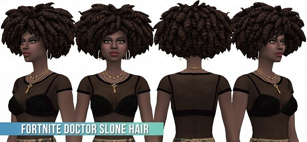 Fortnite Doctor Slone Hair Conversion/Edit from Busted Pixels