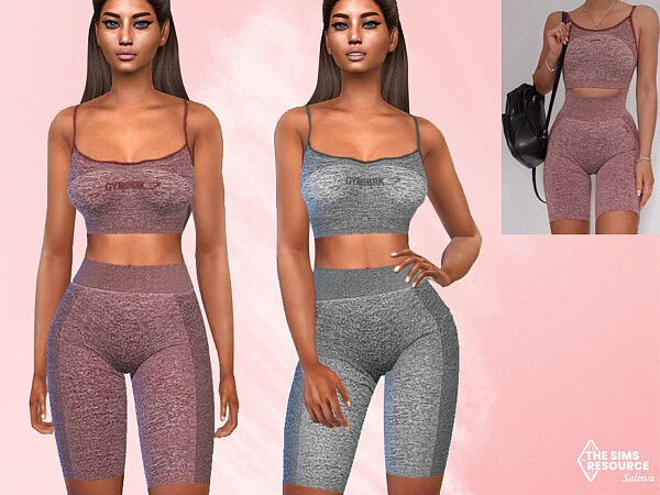Full Athletic Outfits by Saliwa from TSR