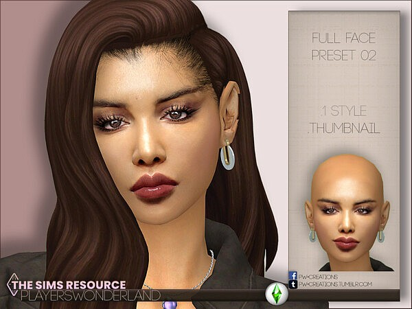 Full Face Preset 02 by PlayersWonderland from TSR