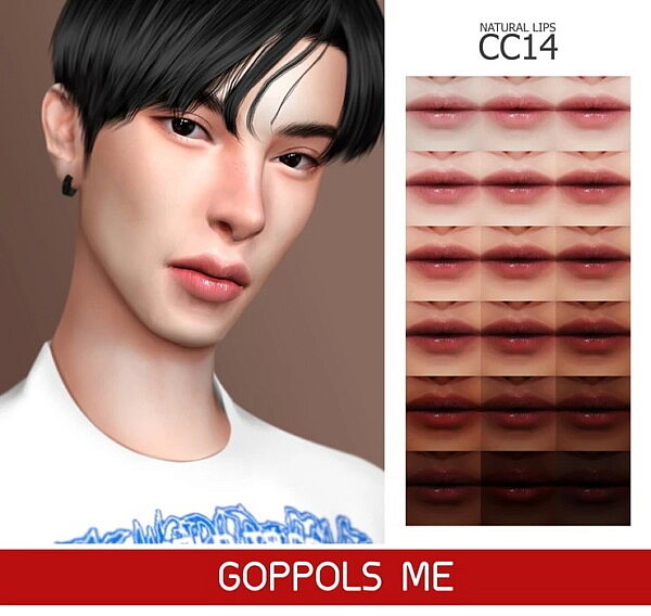 Natural Lips CC14 from GOPPOLS Me