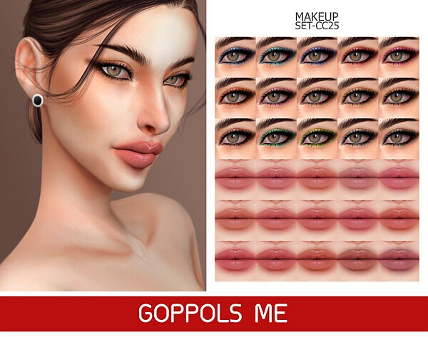 GPME GOLD MAKEUP SET CC25 from GOPPOLS Me