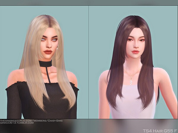 Hair G55 by DaisySims from TSR