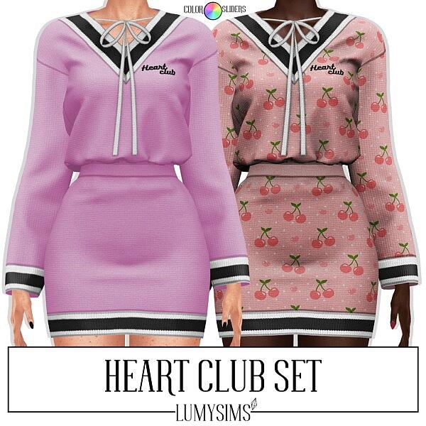Heart Club Set from LumySims