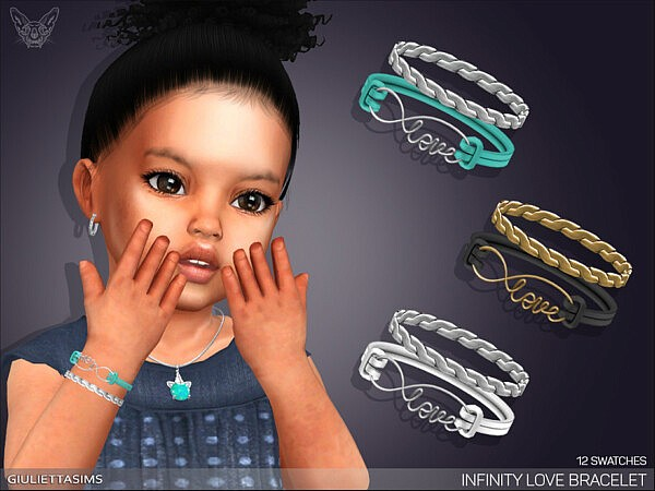 Infinity Love Bracelet TG by feyona from TSR