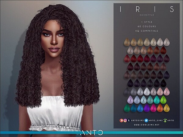 Iris Hair by Anto from TSR