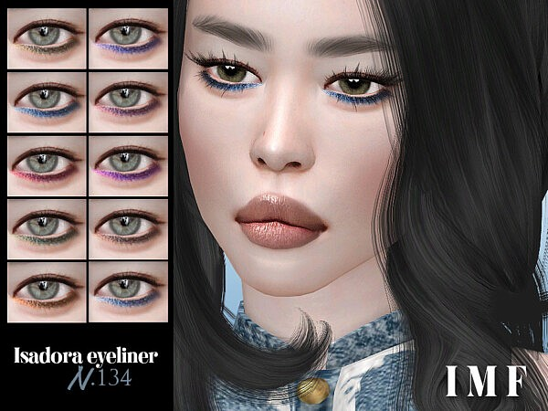 Isadora Eyeliner N.134 by IzzieMcFire from TSR