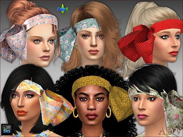 Jumpsuits and head scarves by Mabra from Arte Della Vita