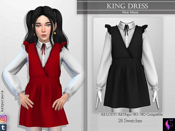 King Dress by KaTPurpura from TSR
