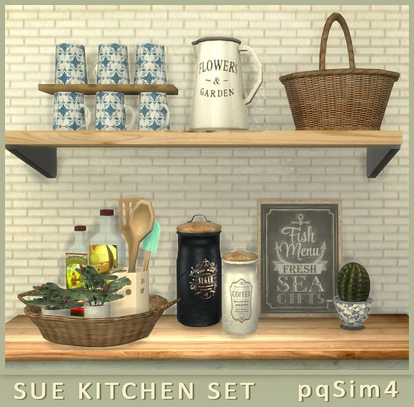 Kitchen decor Sue from PQSims4