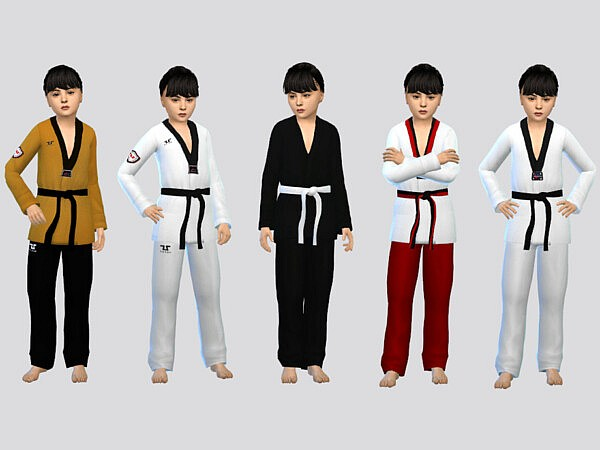 Kyorugi Uniform Girls by McLayneSims from TSR