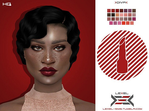 Diva Lips by LEXEL s from TSR