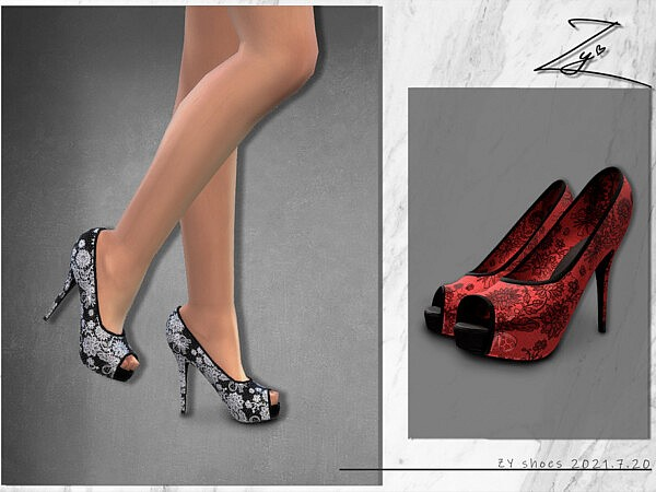 Lace Heels byv zy from TSR