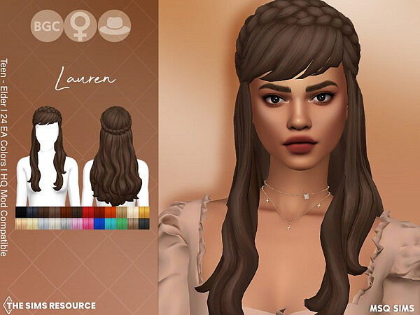 Lauren Hair by MSQSIMS from TSR