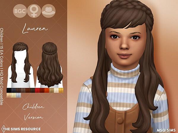 Lauren Hair Children by MSQSIMS from TSR