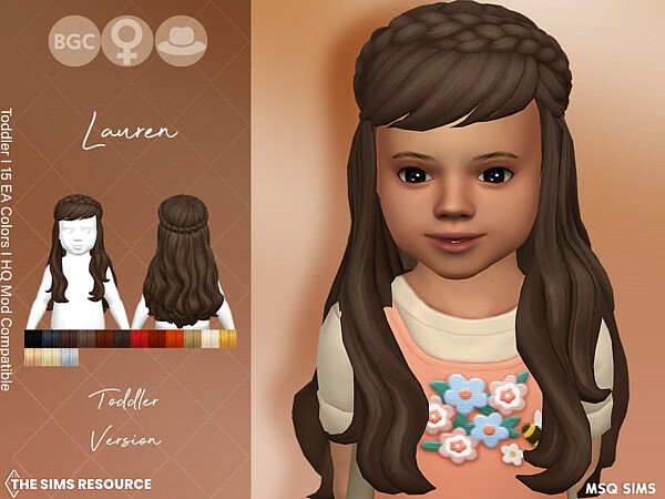 Lauren Hair TG by MSQSIMS from TSR