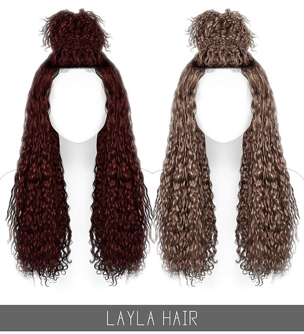Layla Hair Free from Simpliciaty