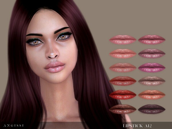 Lipstick A12 by ANGISSI from TSR