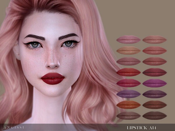 Lipstick A14 by ANGISSI from TSR