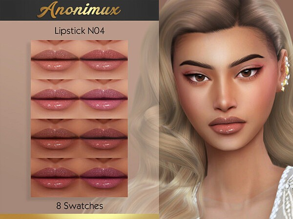 Lipstick N04 by Anonimux Simmer from TSR