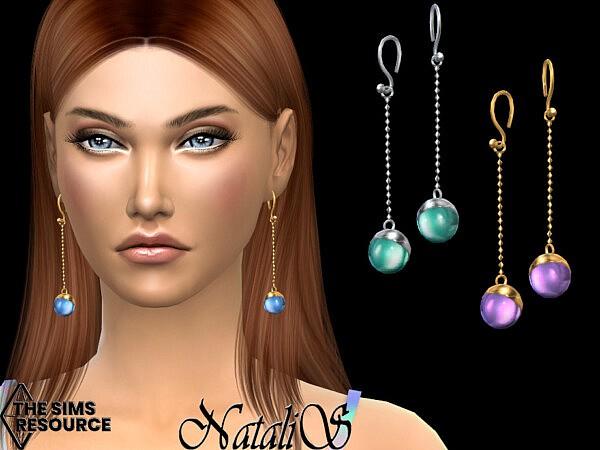 Lollipop drop earrings by NataliS from TSR