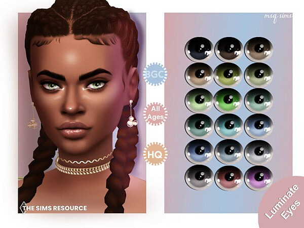 Luminate Eyes by MSQSIMS from TSR