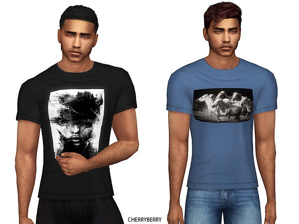 Mens Photography Print Tshirt by CherryBerrySim from TSR