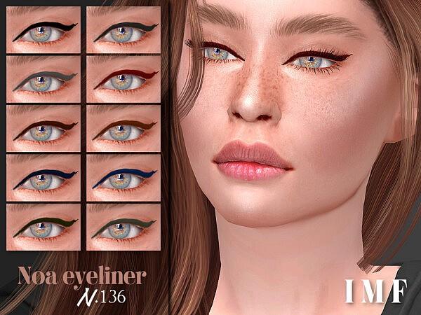 Noa Eyeliner N.136 by IzzieMcFire from TSR
