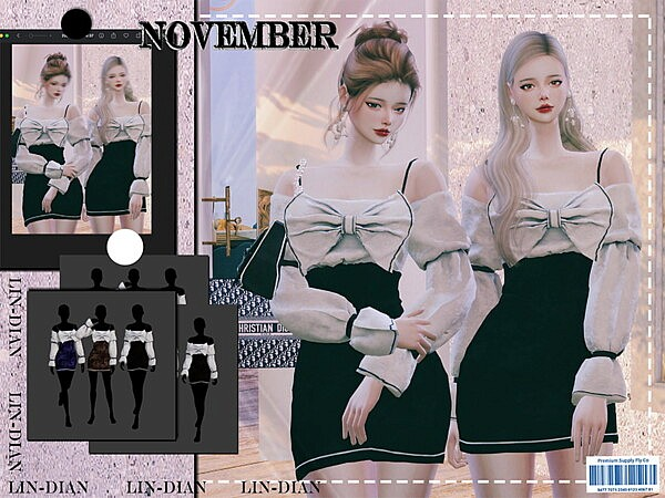 November Suit by LIN DIAN from TSR