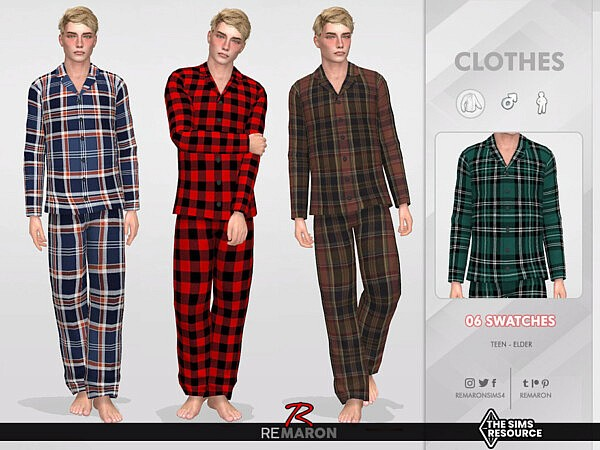 Pajamas Shirt 01 by remaron from TSR