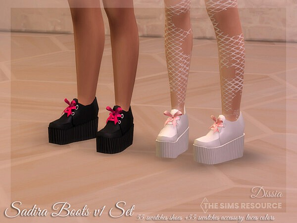 Sadira Boots v1 Set by Dissia from TSR