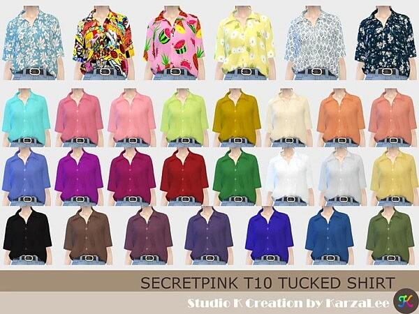 SecretPink T10 tucked shirt from Studio K Creation