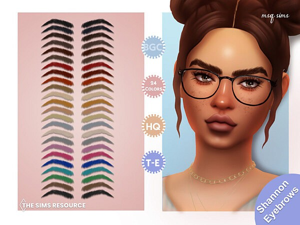 Shannon Eyebrows by MSQSIMS from TSR